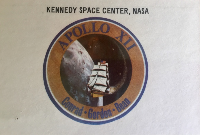 Apollo 12 launch day badge